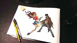 How to draw Awesome Poses: Figures in Action Udemy Coupon & Review