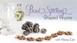 Bead Stitching: Shaped Peyote Craftsy Review