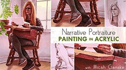 Narrative Portraiture: Painting in Acrylic Craftsy Review