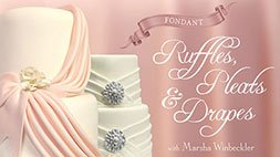Fondant Ruffles, Pleats & Drapes Craftsy Review