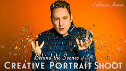 Behind the Scenes of a Creative Portrait Shoot Craftsy Review